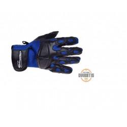 Pirštinės, juoda/ mėlyna, XL